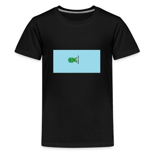 Men's T-Shirt with Turtle Design - Teenage Premium T-Shirt