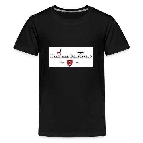 Helemaal Belatafeld - Teenager Premium T-shirt