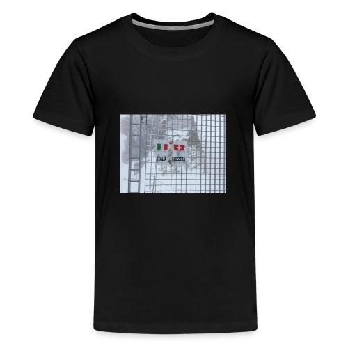 frontière italie suisse - T-shirt Premium Ado