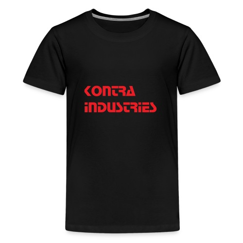Kontra Industries Red GROß - Teenager Premium T-Shirt