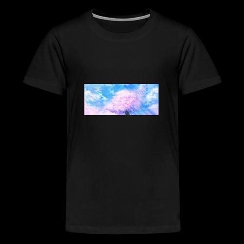 Kirschblüte - Teenager Premium T-Shirt