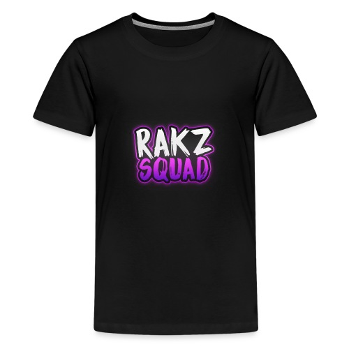 RakzSquad First Merch - Teenage Premium T-Shirt