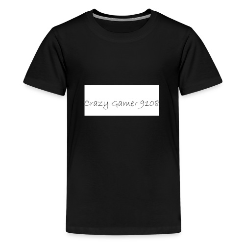 Crazy Gamer 9108 new merch - Teenage Premium T-Shirt