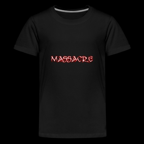 Massacre - T-shirt Premium Ado