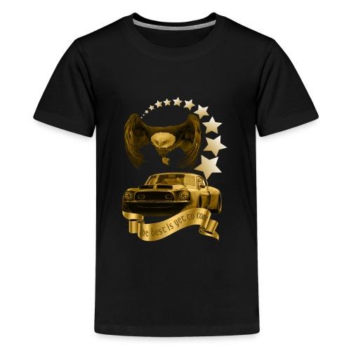 Das beste kommt noch gold - Teenager Premium T-Shirt