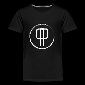 P P. PolskiPies. - Premium-T-shirt tonåring