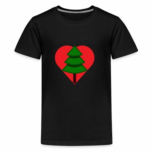 Luv trees! - Teenage Premium T-Shirt