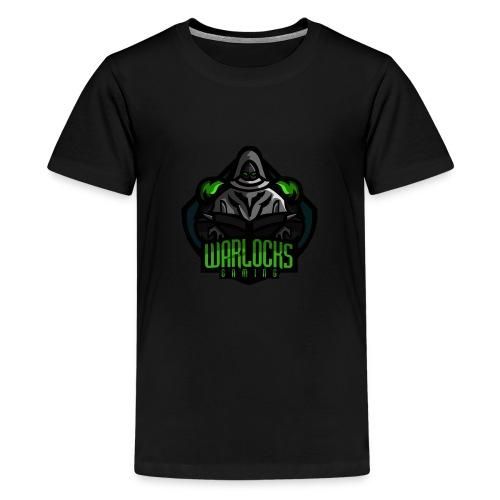 Warlocks Gaming - Premium T-skjorte for tenåringer