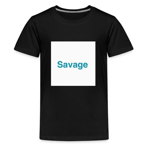 NEW EXLUSIVE SAVAGE MERCHANDICE - Teenage Premium T-Shirt