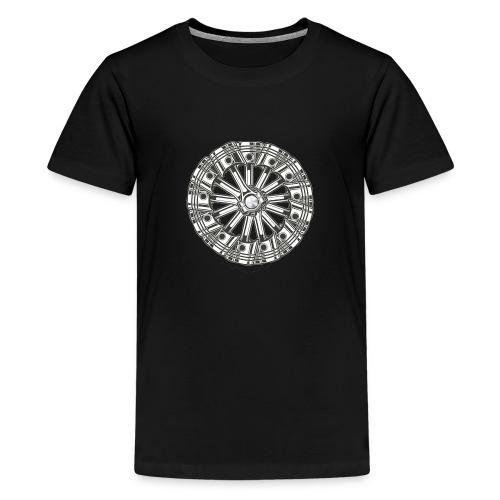 zuiger rol - Teenager Premium T-shirt