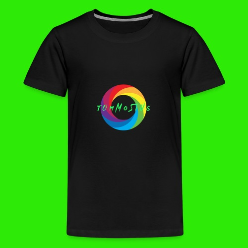 Hauptlogo tOmMoSiUs - Teenager Premium T-Shirt