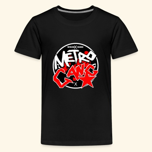 METRO GANG LIFESTYLE - Teenage Premium T-Shirt