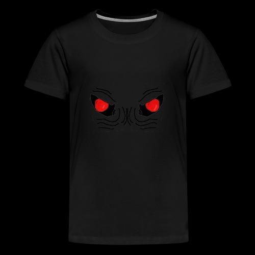 Demon Eyes Red - Teenage Premium T-Shirt