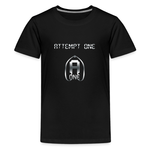 Attempt One - Schriftzug mit Logo - Teenager Premium T-Shirt