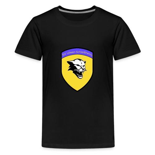 wappenvorlage jpg Kopie - Teenager Premium T-Shirt