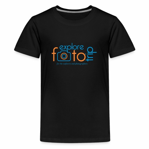 Explore PhotoTrip - Teenage Premium T-Shirt