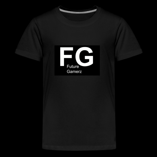 FG lofo boxed black boxed - Teenage Premium T-Shirt