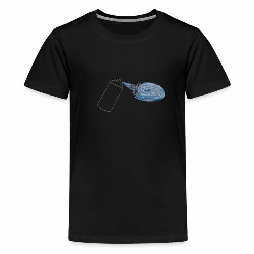 Tag your universe ! For black color - T-shirt Premium Ado