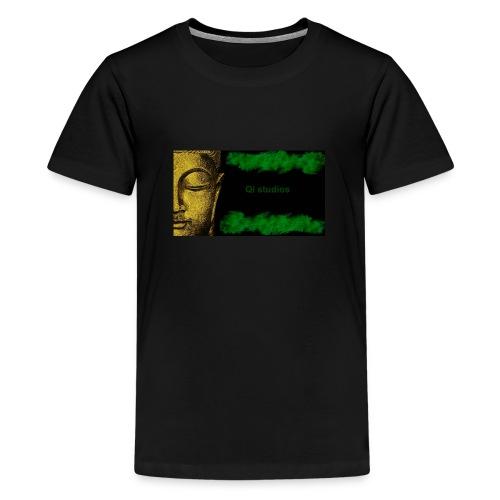 Business Major Label Qi studios - Teenager Premium T-Shirt
