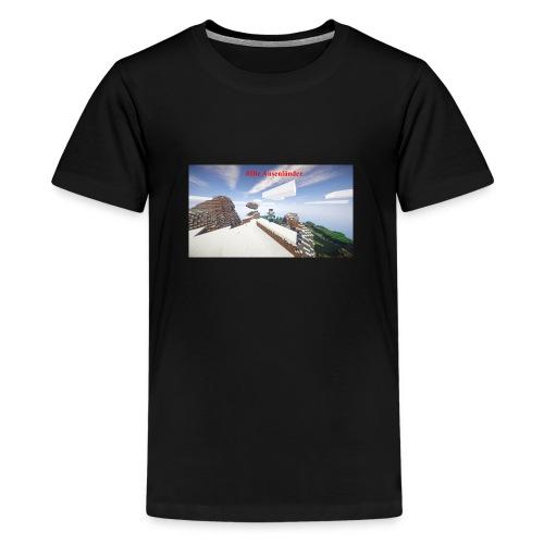 Minecraft Ausenländer - Teenager Premium T-Shirt