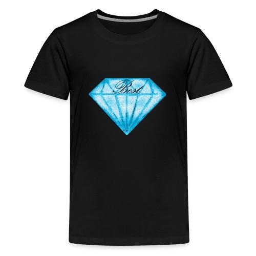 Best diamont - Camiseta premium adolescente