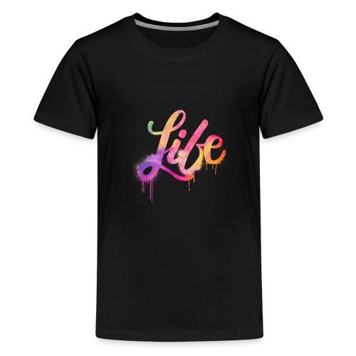 life - Maglietta Premium per ragazzi