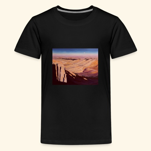 Negev Wüste in Israel - Teenager Premium T-Shirt