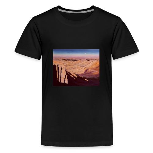 Negev Wüste in Israel - Teenager Premium T-Shirt