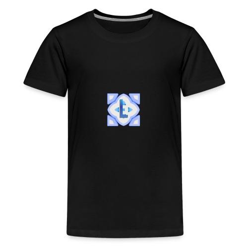 The lanije.com logo - Teenage Premium T-Shirt