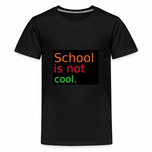 Schulmerch - Teenager Premium T-Shirt