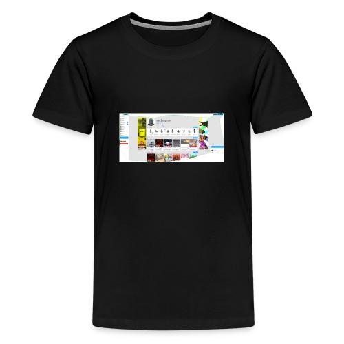 my robox channle - Teenage Premium T-Shirt
