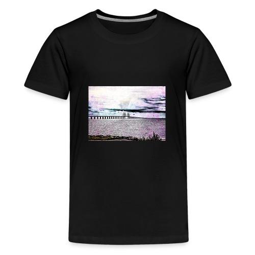 Öresundsbron - Premium-T-shirt tonåring