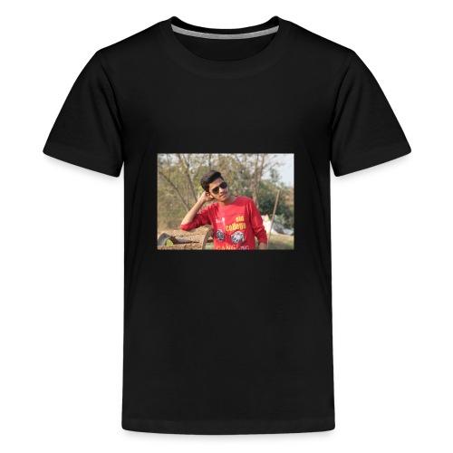 IN SIDDIPET MODEL NAZEER SMART ACTER - Teenage Premium T-Shirt