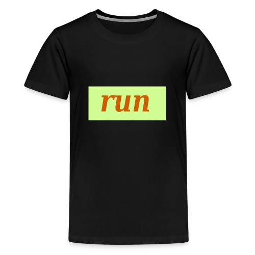run - Teenager Premium T-Shirt
