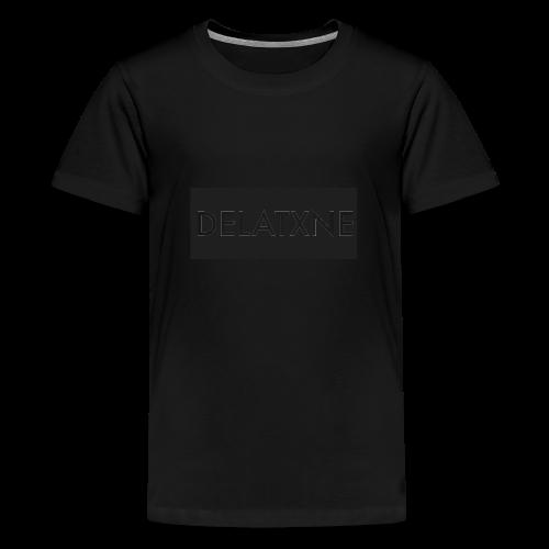 Rectangle Design - Teenage Premium T-Shirt