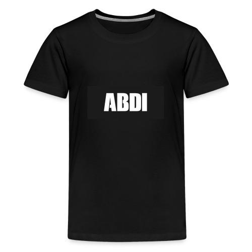 Abdi - Teenage Premium T-Shirt