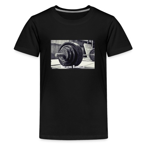 Breaking Barbells - Teenage Premium T-Shirt
