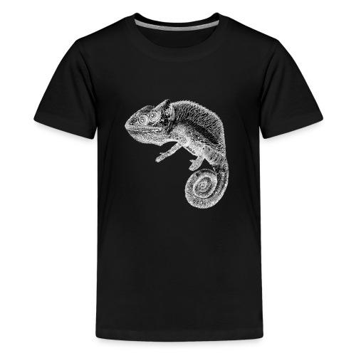 gezeichnetes AnninArt Chamäleon - Teenager Premium T-Shirt