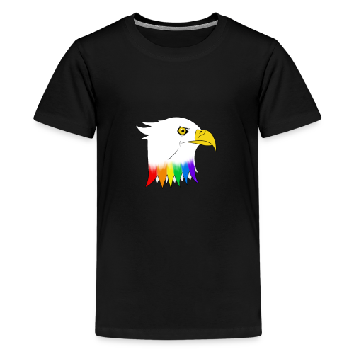 Pride Eagle - Teenage Premium T-Shirt