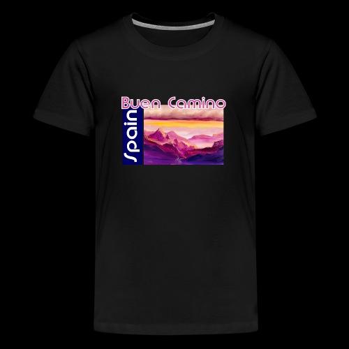 Spain: Buen Camino. Jakobsweg - Teenager Premium T-Shirt