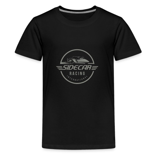 Sidecar Racing International logo clear bg 02 - Teenager Premium T-shirt