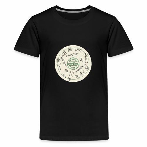 Der Bierdeckel - Teenager Premium T-Shirt