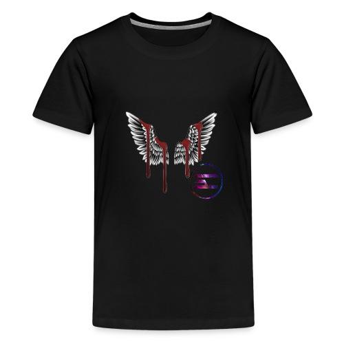 cool wings design - Teenage Premium T-Shirt