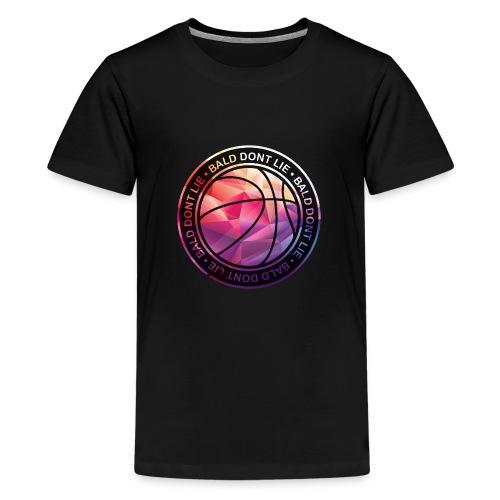 BALD DONT LIE - T-shirt Premium Ado