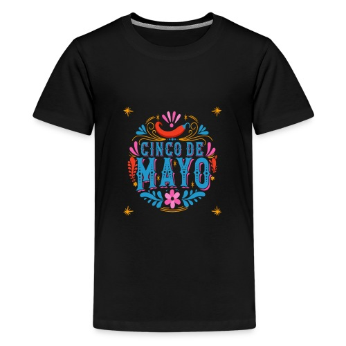 Cinco mayo Mexico - Teenager Premium T-Shirt