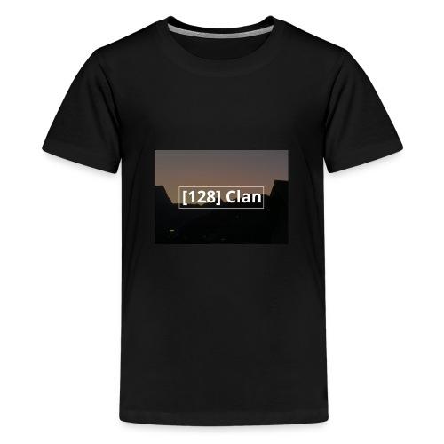 128 Clan logo - Teenager Premium T-Shirt