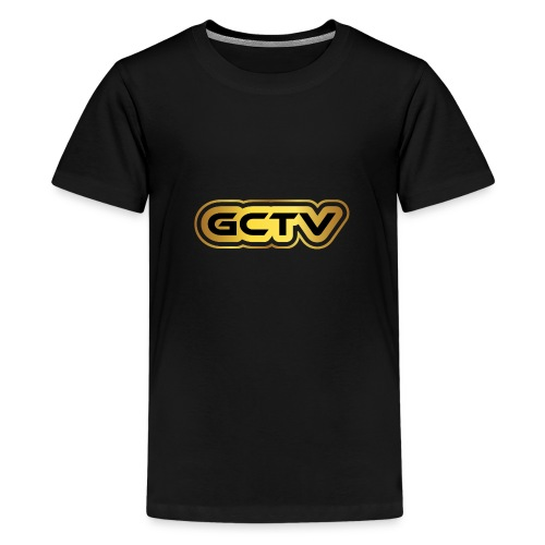 GCTV Gold - Teenage Premium T-Shirt
