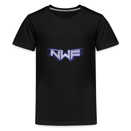 NWF Logo - Premium T-skjorte for tenåringer