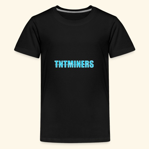 tntminers annan faerg 4 - Premium-T-shirt tonåring