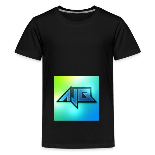 Ajb - Premium T-skjorte for tenåringer